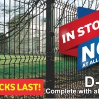 Fencing Available AT ALL OUR OUTLETS!