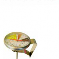 INTERNAL SCALE GLASS THERMOMETER