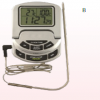 FOLDING SCREEN OVEN THERMOMETER