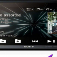 Sony XAV-W650BT Double Din DVD with Bluetooth Receiver