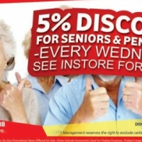 Steel & Build City - Pensioner's discount