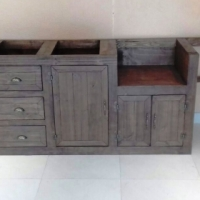 Kitchen Cupboard Scullery unit Farmhouse series 3200 - Stained