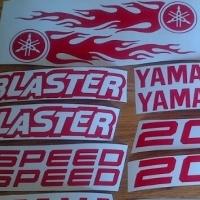 Yamaha Blaster 16 peice decals stickers graphics set
