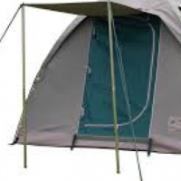Campmor tent with 2x stretchers each with 3 Div matress with covers.