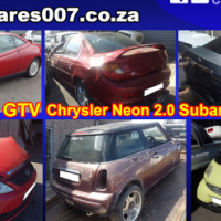 Alfa, Hyundai, Kia, BMW, Mercedes, Toyota, Nissan, Fiat, Daihatsu stripping for spares
