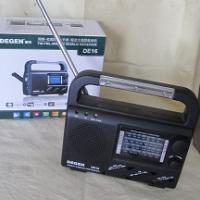 Solar/ battery/power/rewind Radio for sale