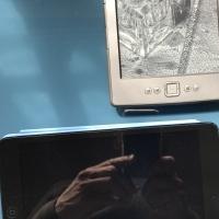 Ipad mini and a Kindle