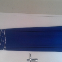 Blue dress worn once size 12