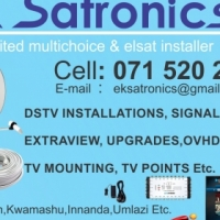Technician: DSTV, OVHD, FTAs Installations and technical solutions