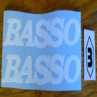 Basso frame decals stickers graphics
