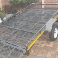 Break neck flat bed - Ideal for golf cart/3 bikes/quads