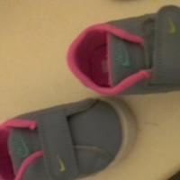Grey baby Nikes size 1
