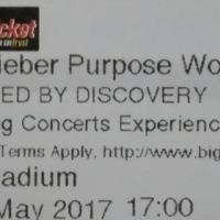 Justin Bieber JHB Tickets R520 each - Face Value