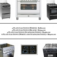 Great Deals on Gas Stoves- Available From R 2 815.00