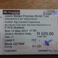 Justin Bieber Tickets for Sale