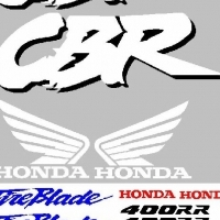 NC 29 Honda baby blade decals stickers graphics kits