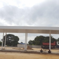 FUEL STATION CANOPY 1 ISLAND 7X12 WITH RECESSED FACIA R150 000 CASH 3 AVAILABLE