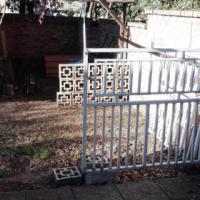 Steel Motor Gates & Pedestrian Gate