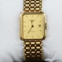 Longines Unisex Gold Dress Watch