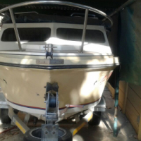 Corvette Cabin boat swap for caravan