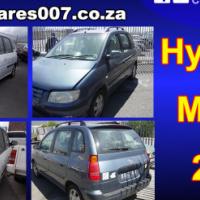 Hyundai Matrix Stripping for spares
