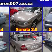 Hyundai Sonata breaking up for spares