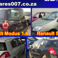 Renault Modus, Megane, Scenic and Clio stripping for spares