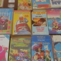 +- 40 old kiddies videos plus machine and remote