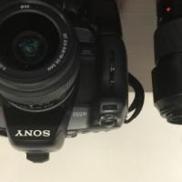 Sony Alpha A550 DSLR Camera