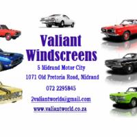 Chrysler Valiant Windscreen