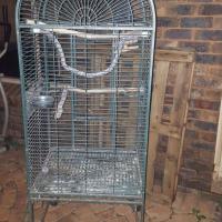 BIRD CAGE ON WHEELS