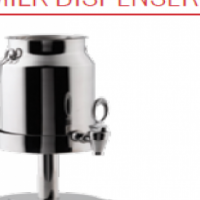 MILK DISPENSER ODIN S/STEEL WITH ICE CORE