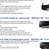 Massive special on Wide format photo printers and Entry level canvas printer