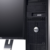 "Dell™ OptiPlex™ GX755 Core2Duo Desktop PC + 17"" Monitor - 1 Year Warranty & Free Delivery"