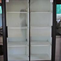 Display double sliding door fridge 760L Like new