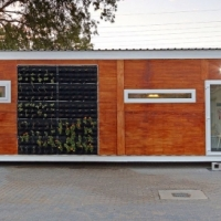 Off-The-Grid Solar Modular Container Home and Garages