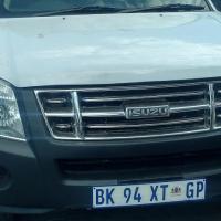 Manager Special: 2012 Isuzu Kb bakkie for R 95000.00