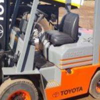 We are selling this Toyota 2.5 t forklift