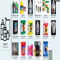 Amazing Range of Detergents and Cleaning Materials...