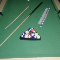 Pool table to SWOP.
