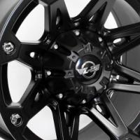 "16"" SM808 6/139 M/Black Alloy Wheels"