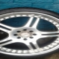 """18""""tyres and rims for sale."""