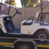 Golf Cart Electrical in Excellent Condition with Trailer One Owner new batteries