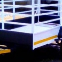 3m x 1.5m Trailer with 900mm sides