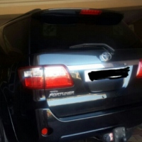 2009 Toyota Fortuner - Manual - Black