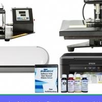 4in1 standard printing system (mug press,flat press, printer, vinyl cutter)