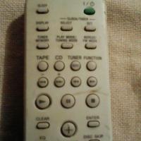A sony dvd remote control