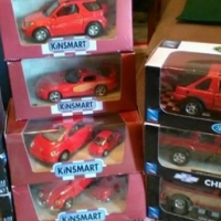 Cars in boxes
