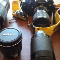 Nikon F3 Film Camera Kit  New Condition
