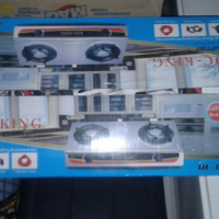 Gas stove 2 plate brand new in box never been used.